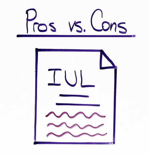 pros and cons of indexed universal life