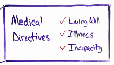 Medical Directives and a Trust