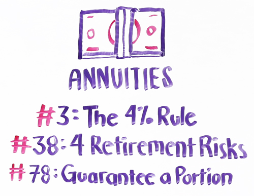 popular msm annuities episodes
