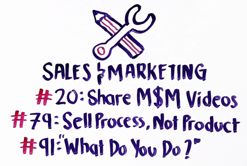 popular msm sales and marketing episodes