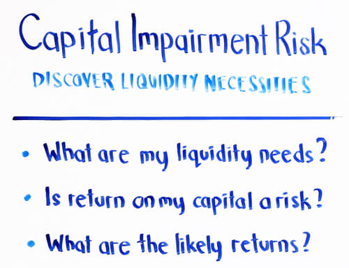 capital impairment risk