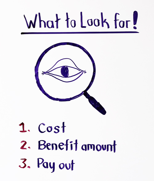 what to look for