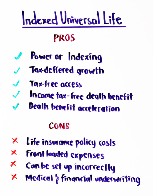 indexed universal life pros and cons