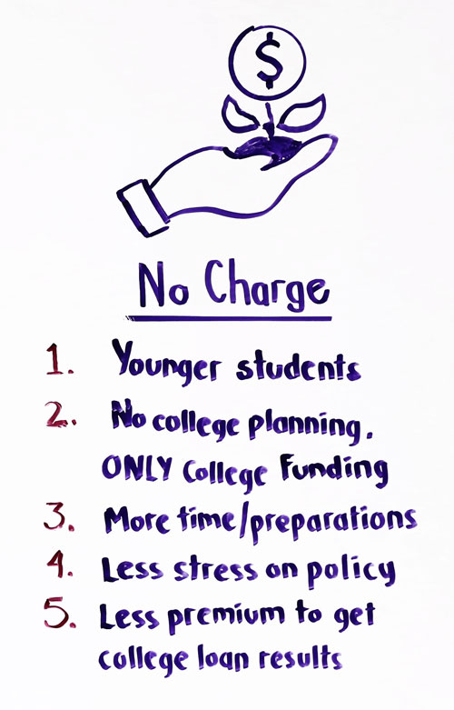 no charge for college planning