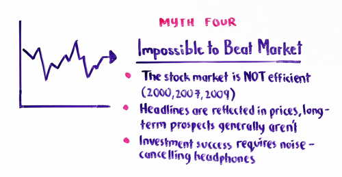 myth 4 impossible to beat market