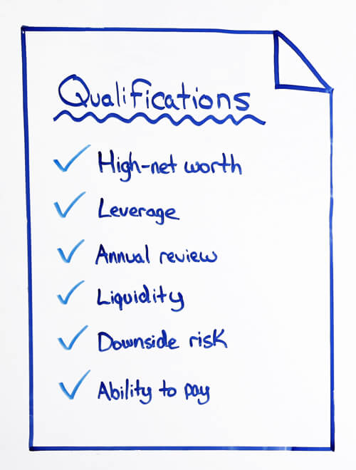 qualifications for premium finance