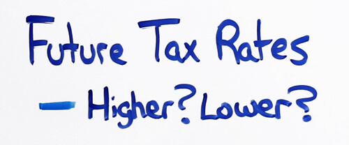 future tax rates