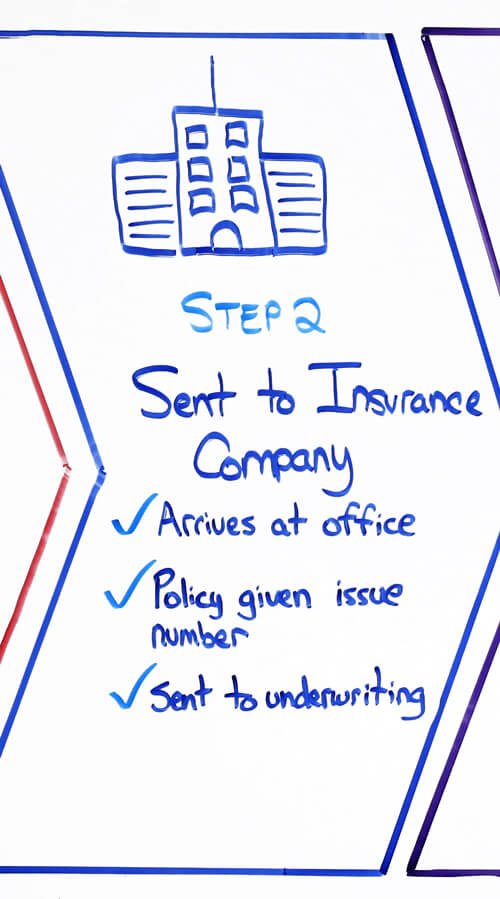life insurance application process step 2