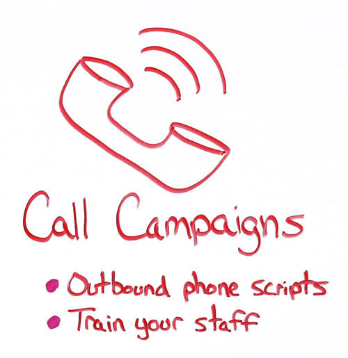 call campaigns for college planning