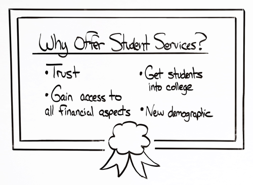 why offer college planning services