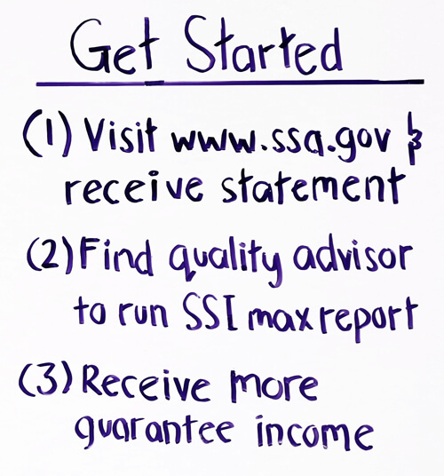 get started social security