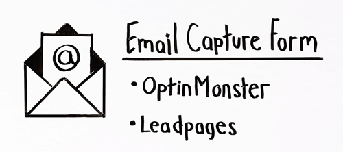 email capture form